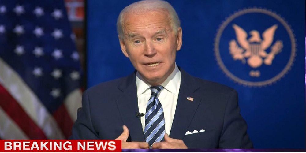 WATCH: Biden says he will ask everyone in America to wear masks for 100 days