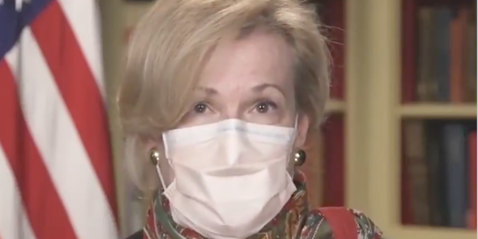 Dr. Birx violated her own travel guidelines because her family was depressed—but didn't afford Americans the same excuse