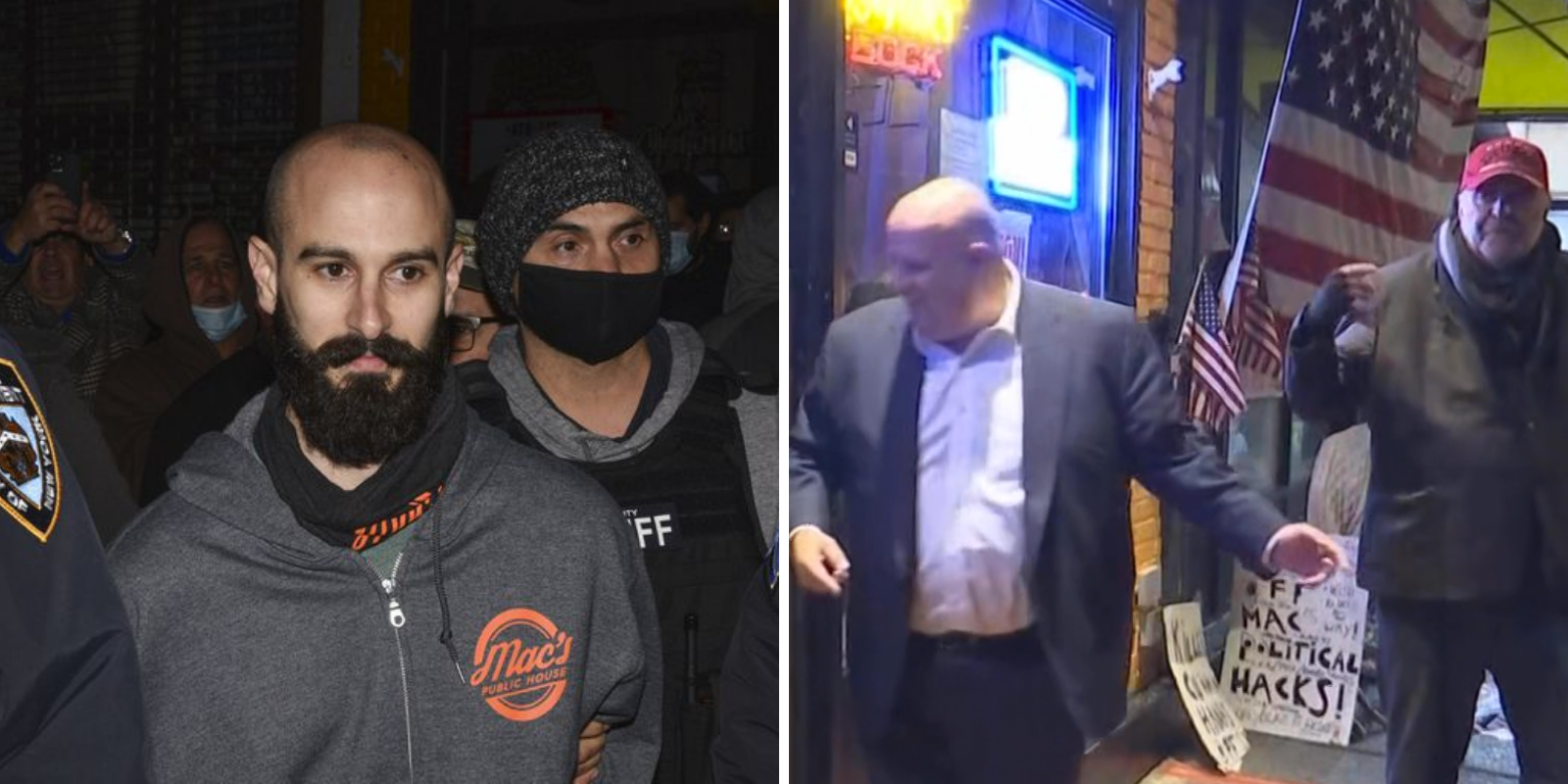 Staten Island bar owner who protested lockdowns arrested again after refusing to close business