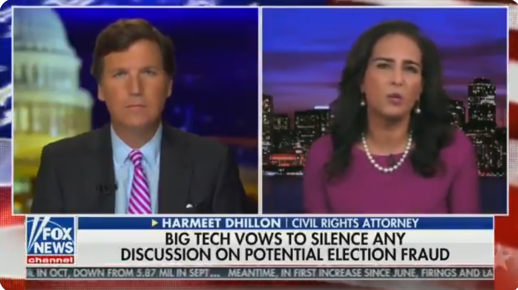 WATCH: Harmeet Dhillon exposes the hypocrisy of YouTube's war on conservatives