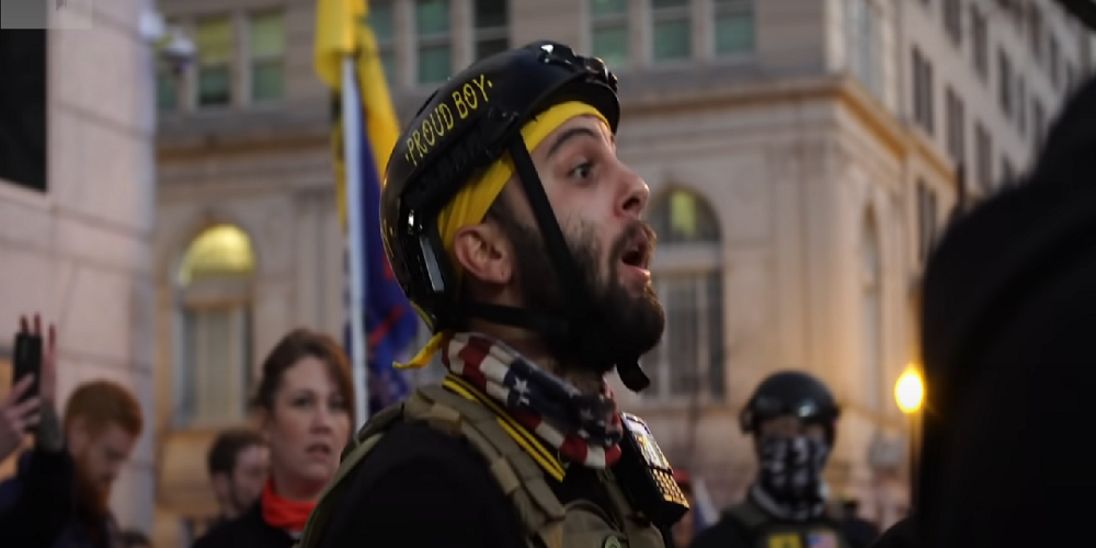 DC left-wing activists ready for return of the Proud Boys, plan to shut down well-known Harry's Restaurant