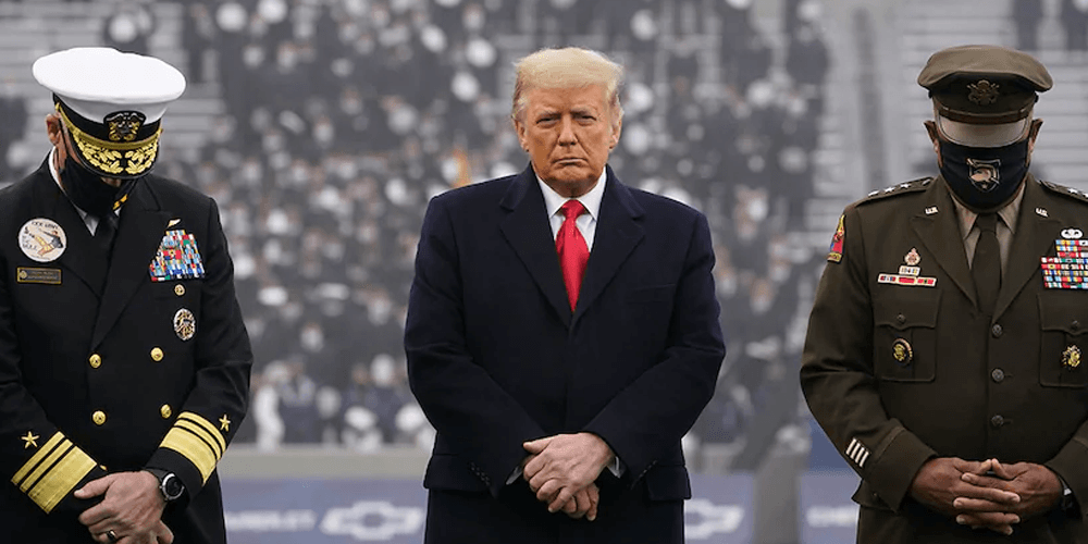 WATCH: President Trump attends US Army-Navy football game, crowd goes wild