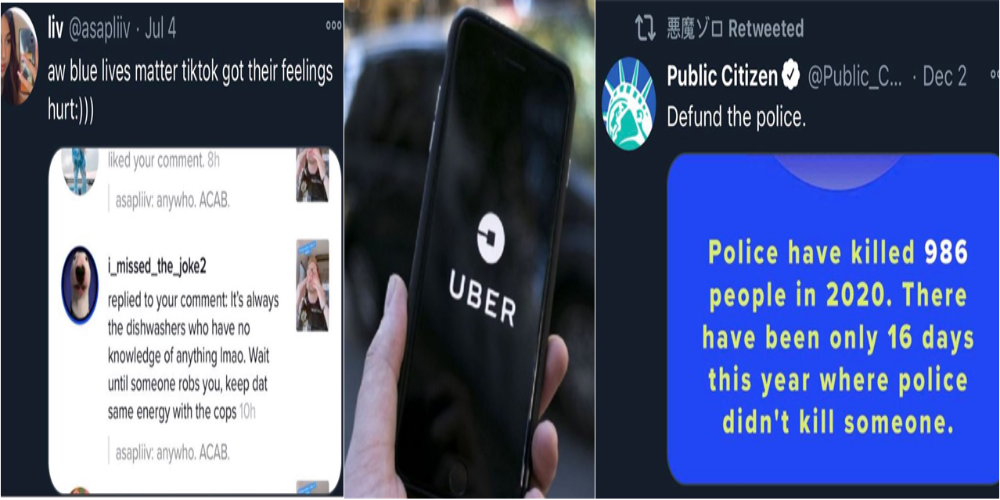 Uber driver allegedly stabbed to death by homeless BLM activist couple riding in the back seat