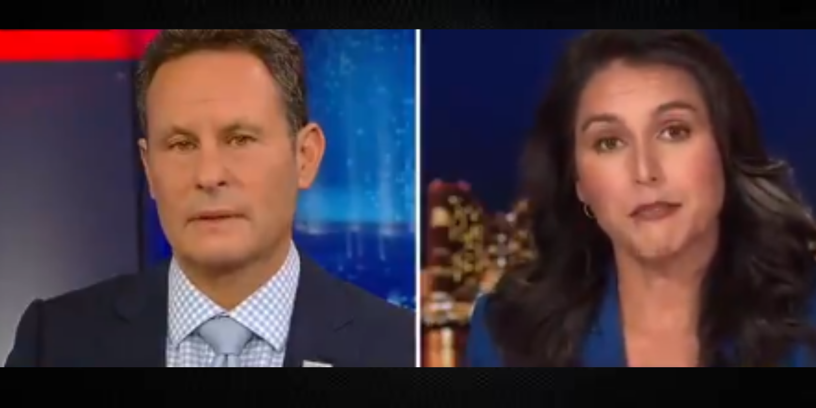 WATCH: Tulsi Gabbard asks Biden to denounce the targeting of all Trump supporters