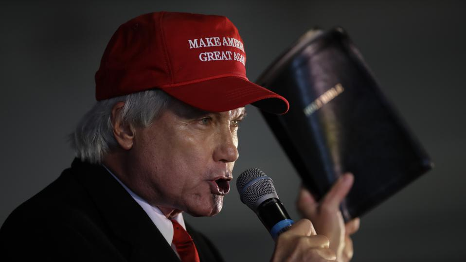 Parler removes some of Lin Wood's posts inciting violence against VP Mike Pence