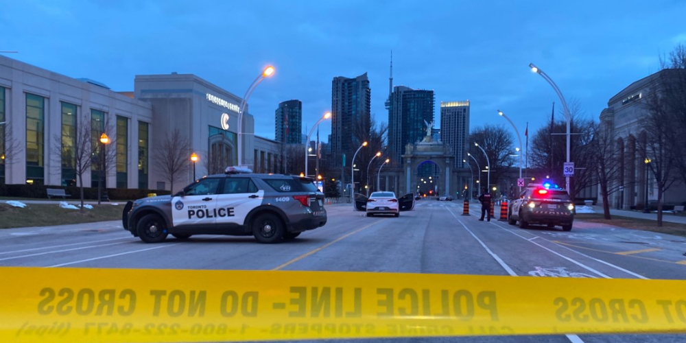 Toronto woman shot in car at Exhibition Place