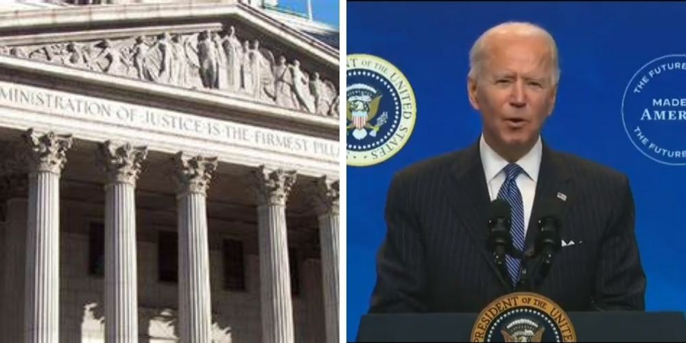 Biden pushes forward on commission to study Supreme Court 'reform'