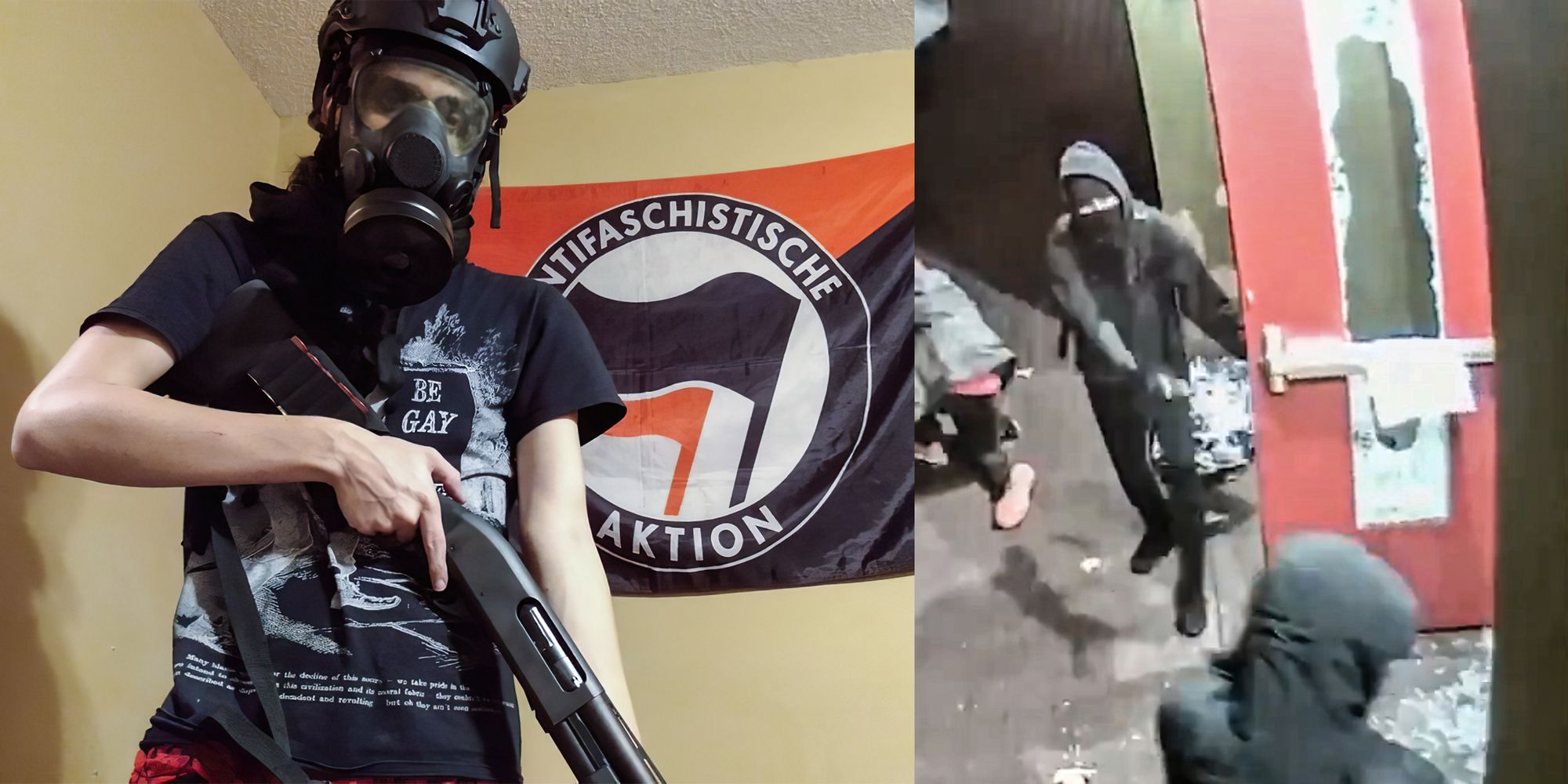 Accused Antifa rioter indicted over church destruction in Portland