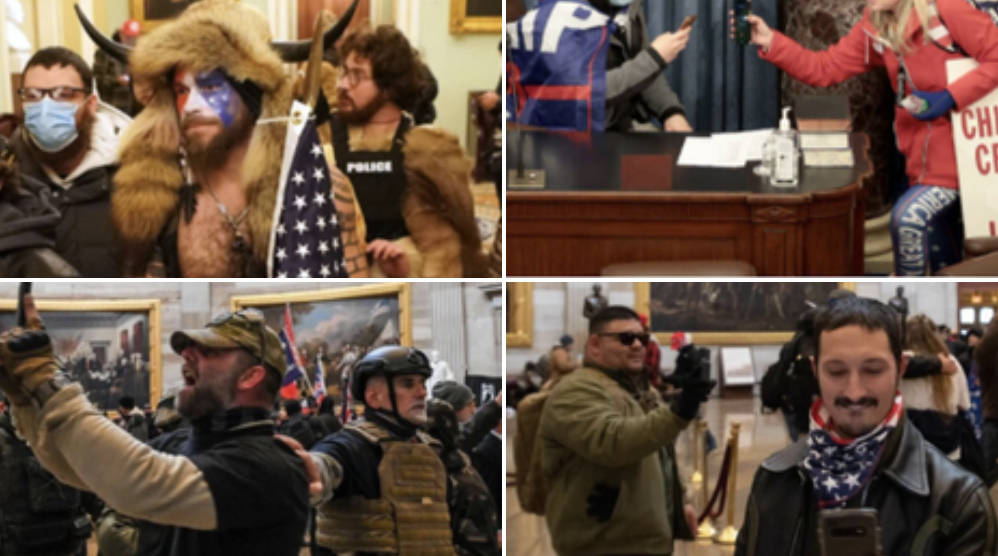DC Police release photos of suspects wanted for Capitol riot