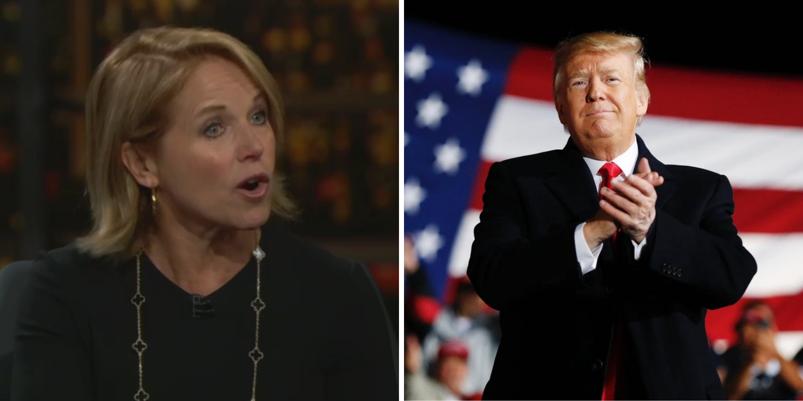 WATCH: Katie Couric says Trump supporters need to be 'deprogrammed'