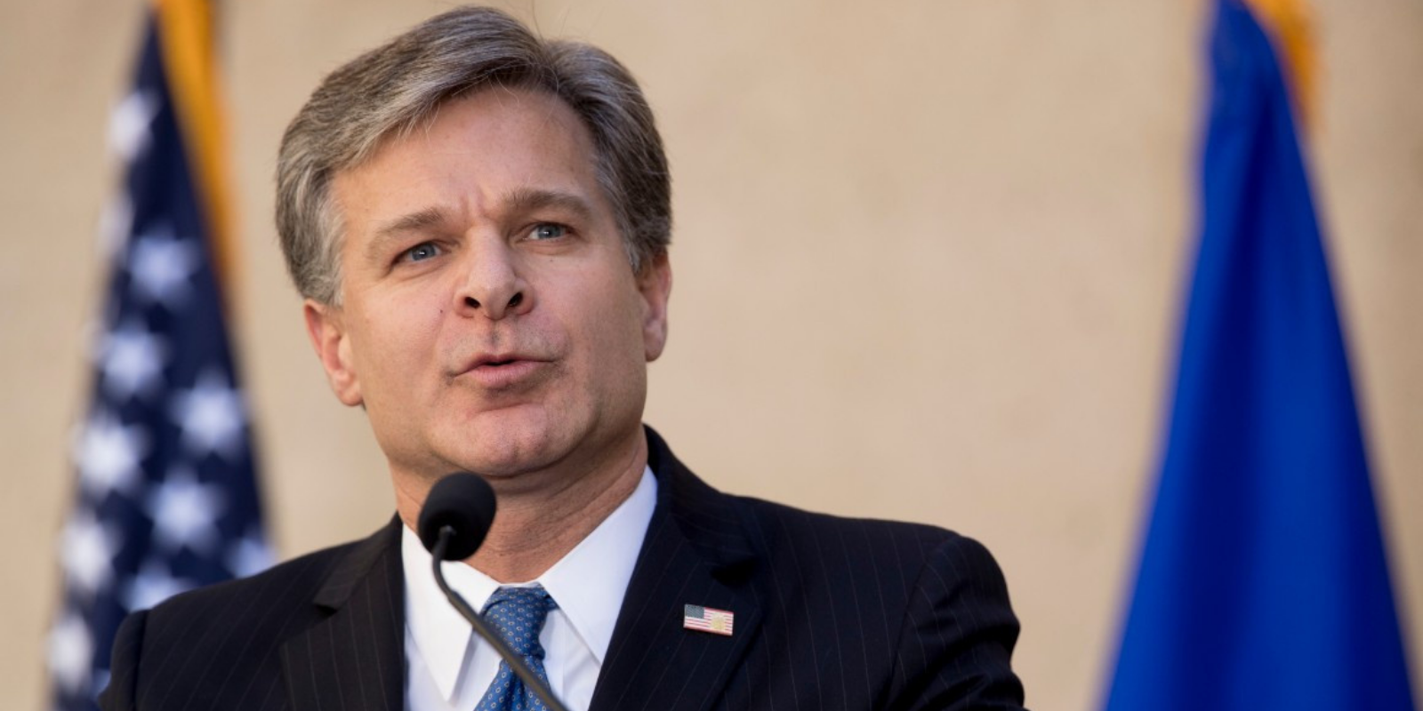 BREAKING: President Biden expresses confidence in FBI Director Chris Wray, plans to keep him in current role