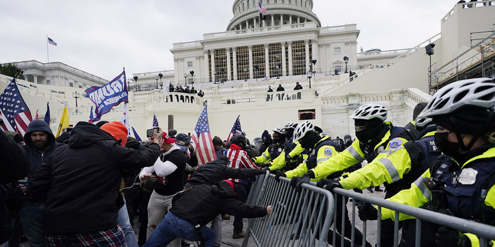Another Capitol Police officer commits suicide after Jan. 6 riot