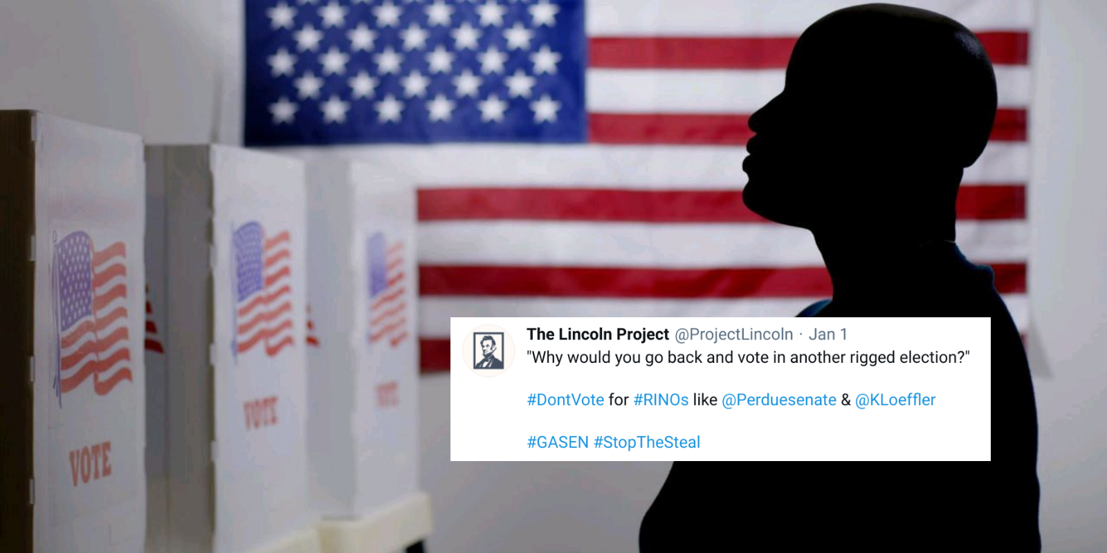 REVEALED: Democrat operatives including Lincoln Project spread disinformation to suppress the conservative vote