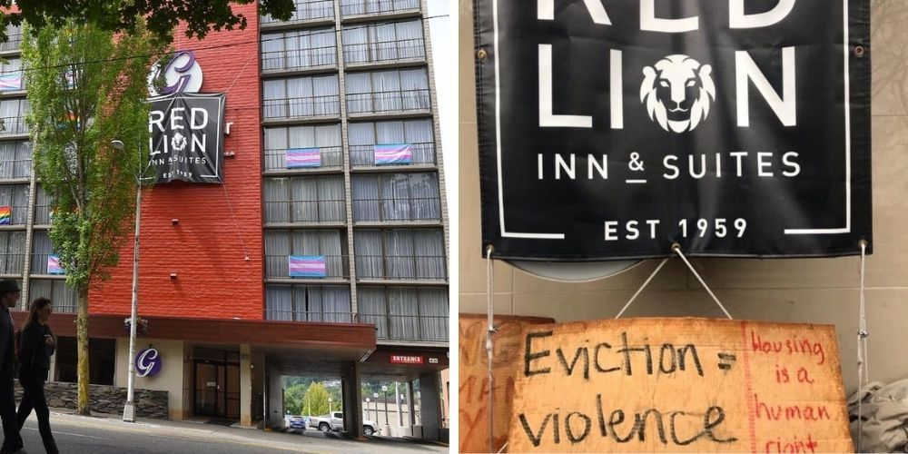 BREAKING: Antifa activists occupy hotel in Washington state Capitol, demanding shelter for homeless