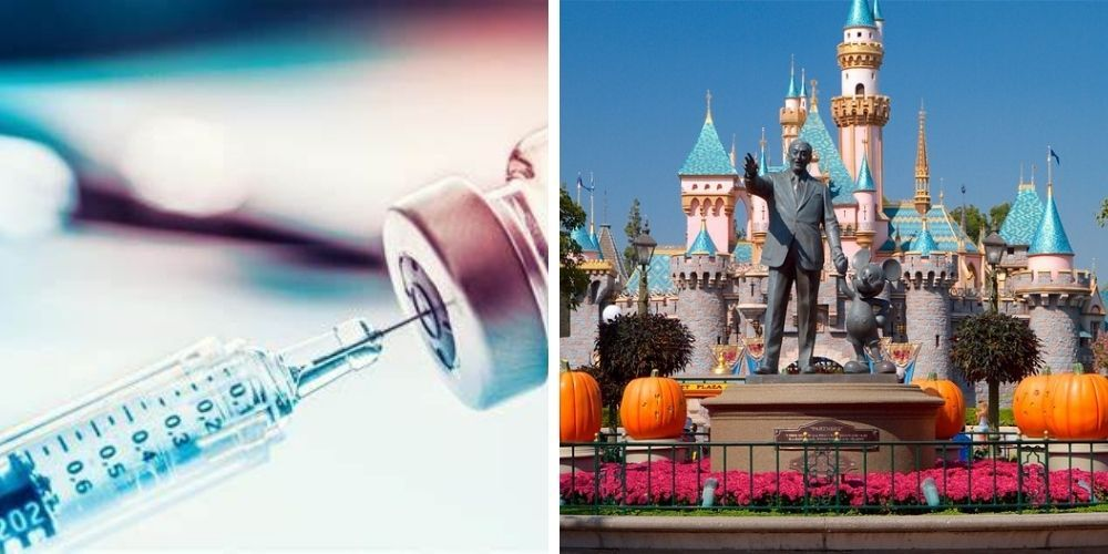 Disneyland to re-open as 'super' vaccination site
