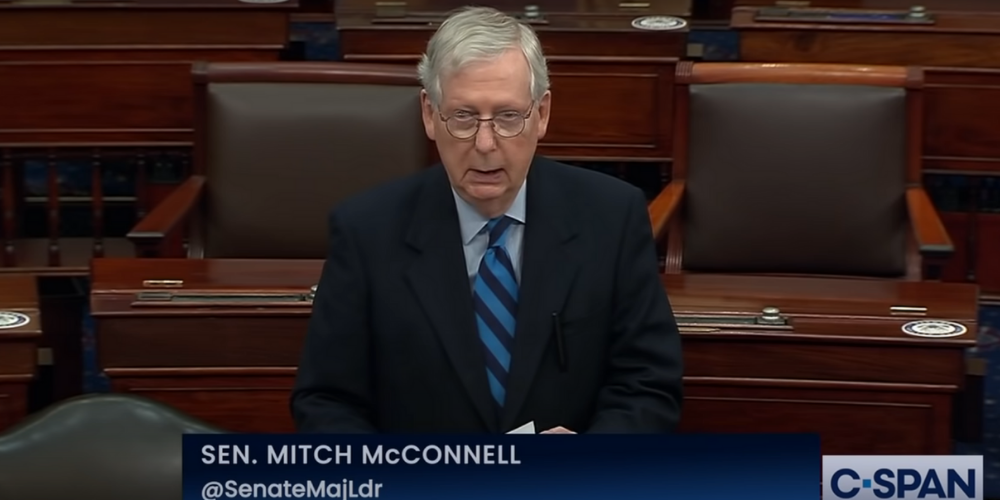 McConnell reportedly lobbied by top Republicans to convict Trump in impeachment trial
