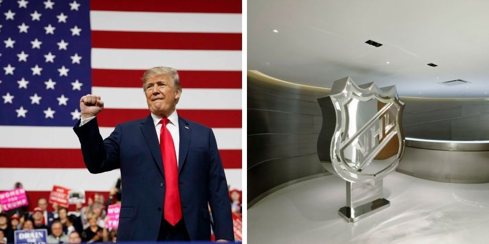 Former Trump staffer fired from new job at jet company after NHL allegedly complained about his work history