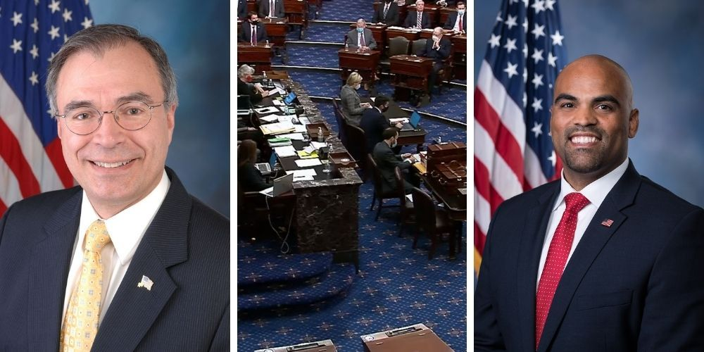 Near-fistfight between Democrat and Republican Representatives on the House floor