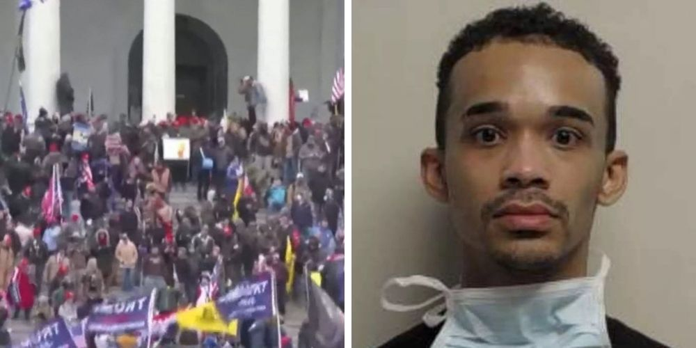 Extreme BLM activist identified in mob that stormed Capitol detained by DC police