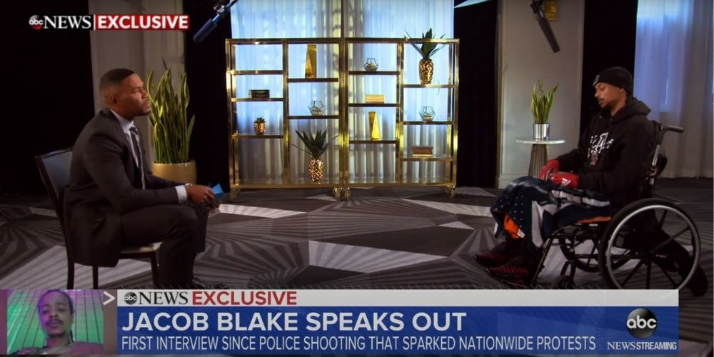 Good Morning America's interview with Jacob Blake left out some key facts