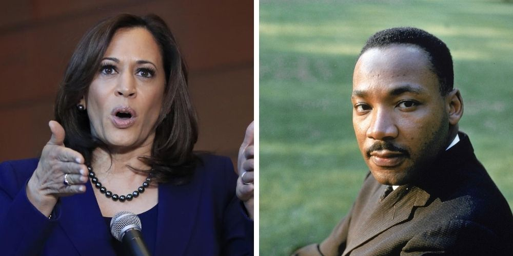 Kamala Harris accused of stealing 'fweedom' story from MLK interview in Playboy