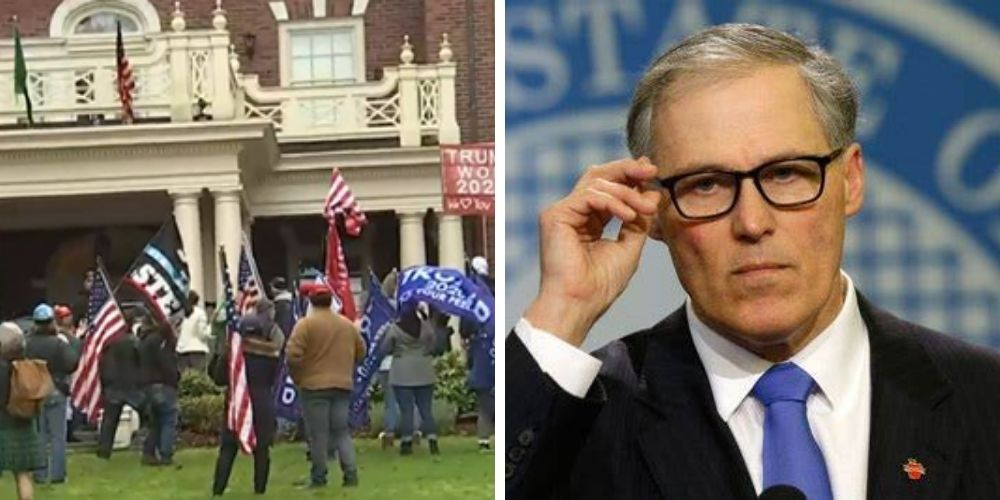 WA Governor who refused  National Guard for Seattle's 'autonomous zone' calls up Guard to protect Governor's Mansion