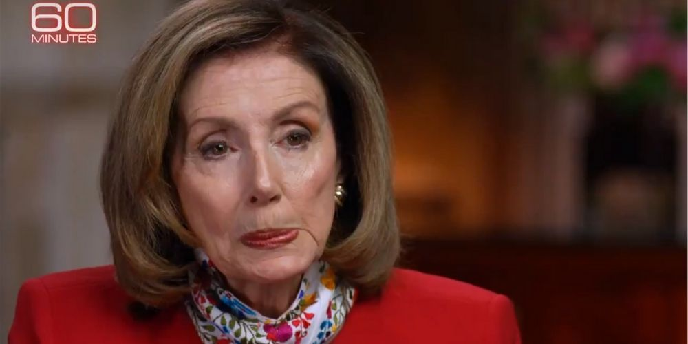 WATCH: Pelosi admits holding up  COVID relief for eight months in 60 Minutes interview