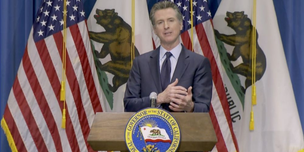 California governor points to 'all the new billionaires' as proof his state is prospering