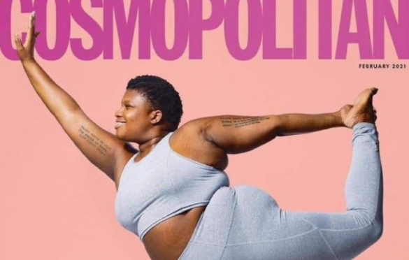 Cosmopolitan calls obesity 'healthy' during a pandemic