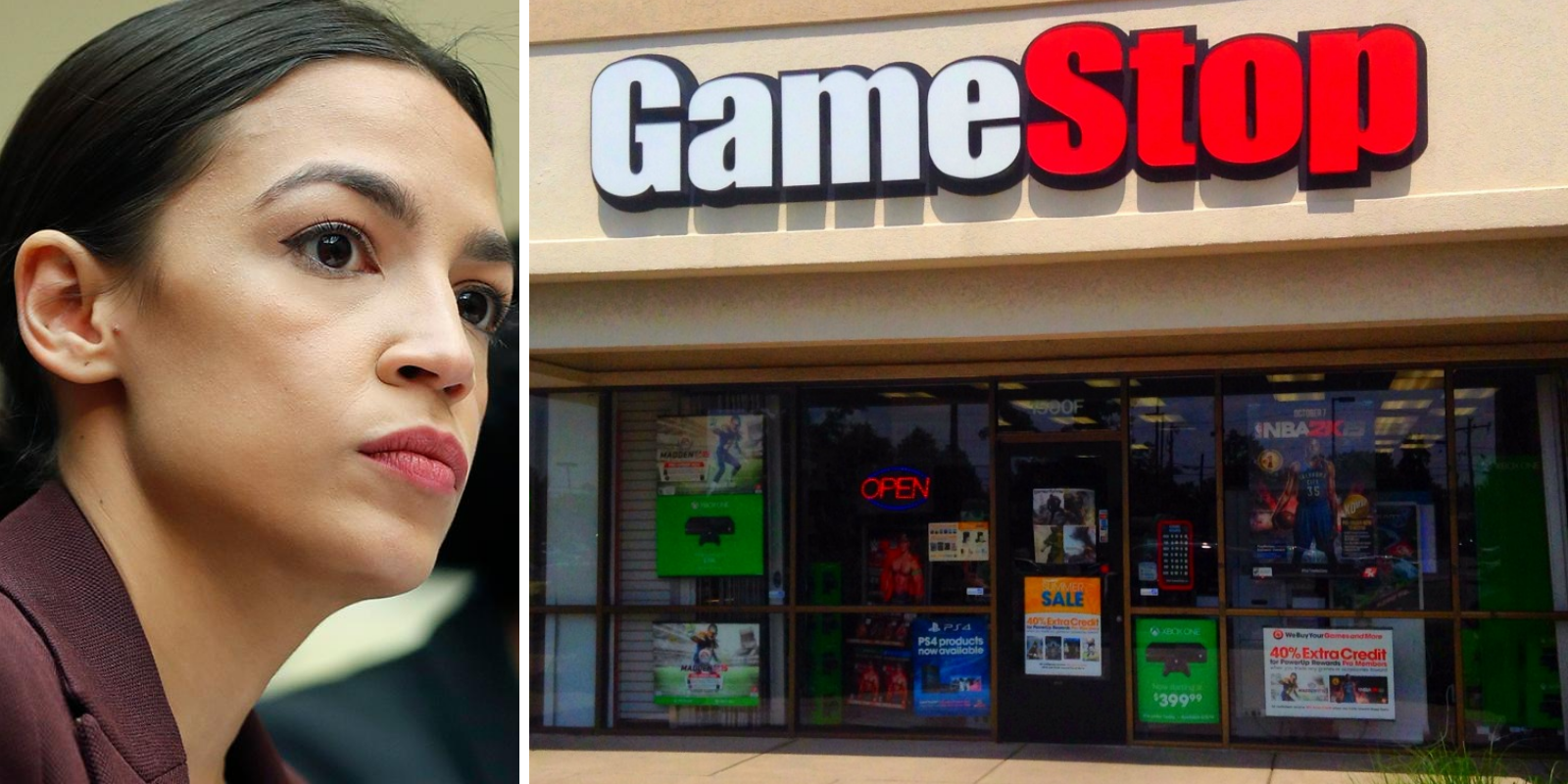 BREAKING: AOC slams Robinhood for pausing trading on GameStop, other stocks