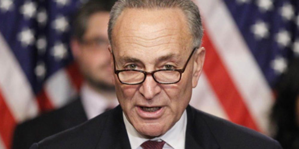 WATCH: Chuck Schumer says Senators must decide whether Trump incited 'erection'