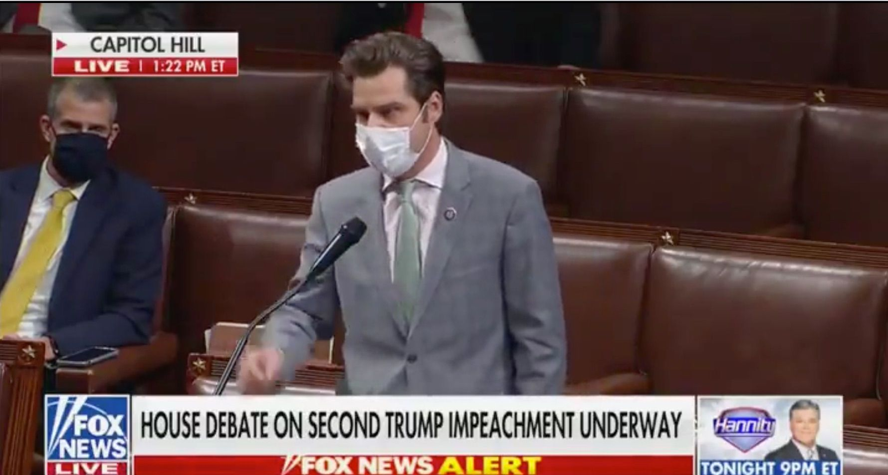WATCH: Matt Gaetz calls our Democrat hypocrisy on 'incitement of violence'