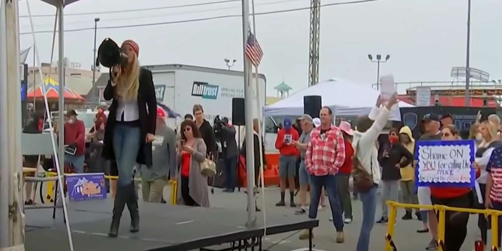 Long Island small business owners resist shutdowns, hold protest rally on New Year's Eve