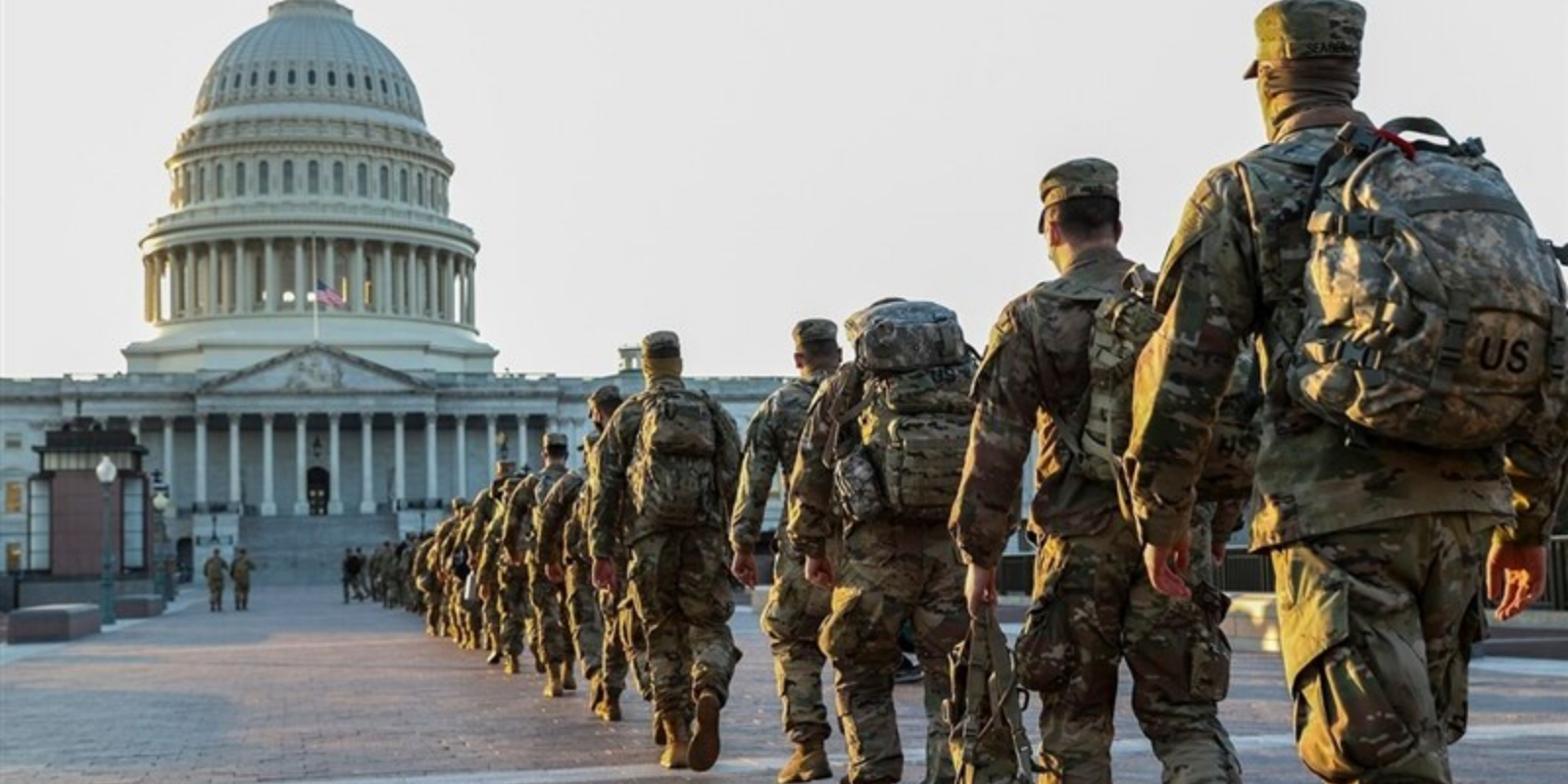 FBI is screening National Guard troops for Trump supporters ahead of inauguration