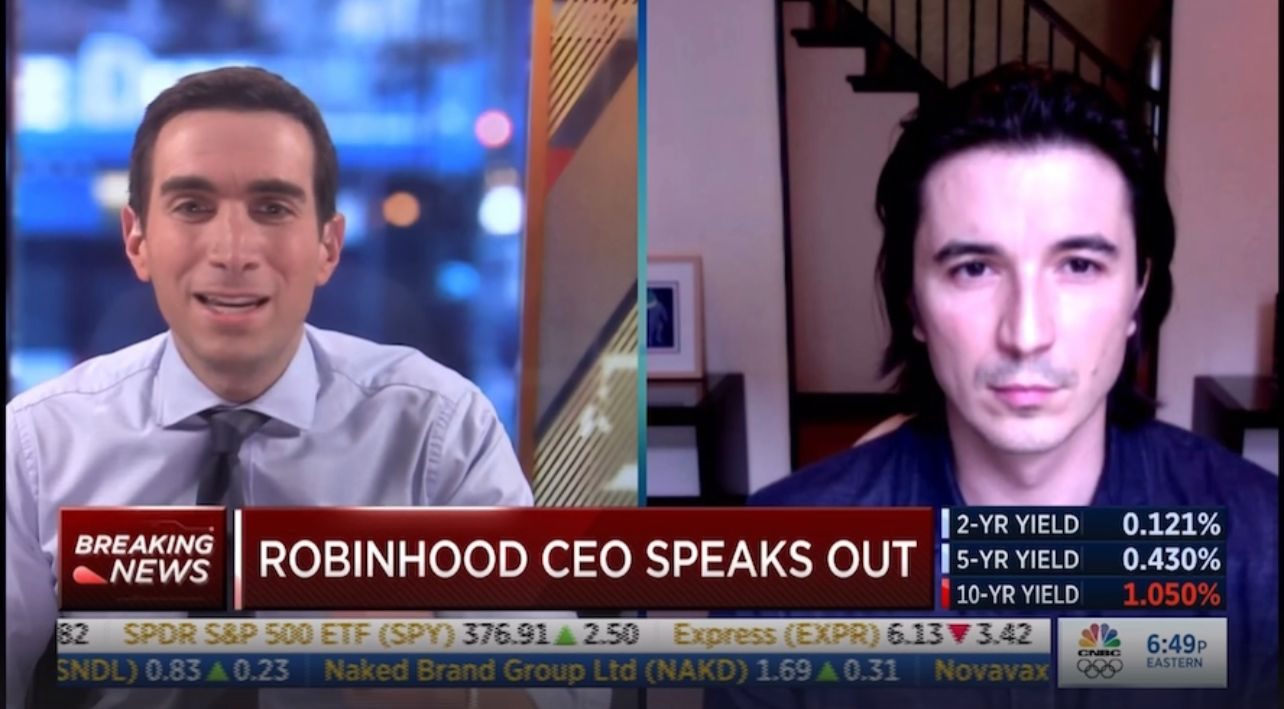 BREAKING: Robinhood CEO defends pausing trade on GameStop and other stocks