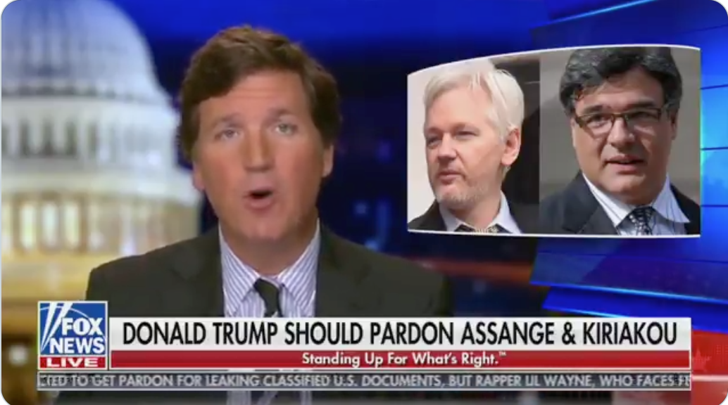 WATCH: Mitch McConnell alleged to have 'sent word over to the White House' that a pardon for Julian Assange would mean an impeachment for Trump