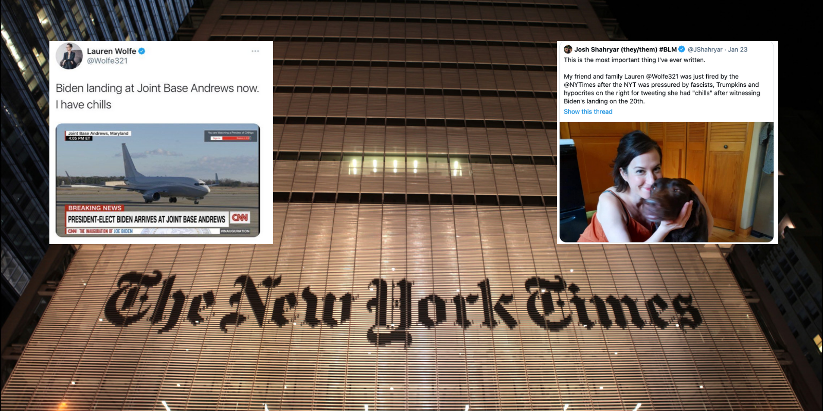 DEBUNKED: Liberal media falsely claims that a 'conservative mob' got a NYT editor fired
