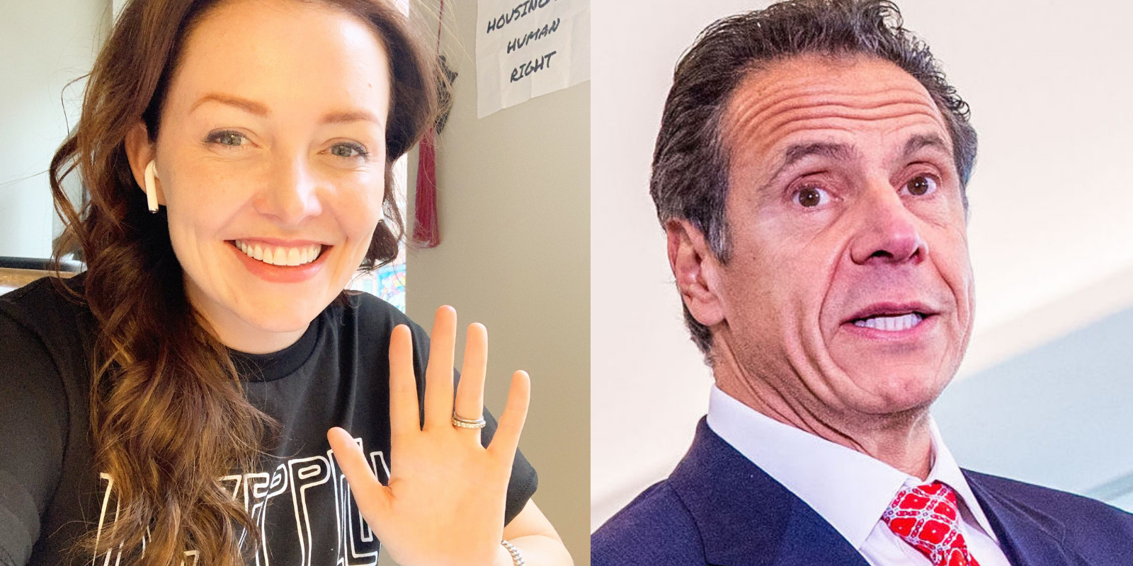 BREAKING: Former Cuomo aide reveals her allegations of sexual assault