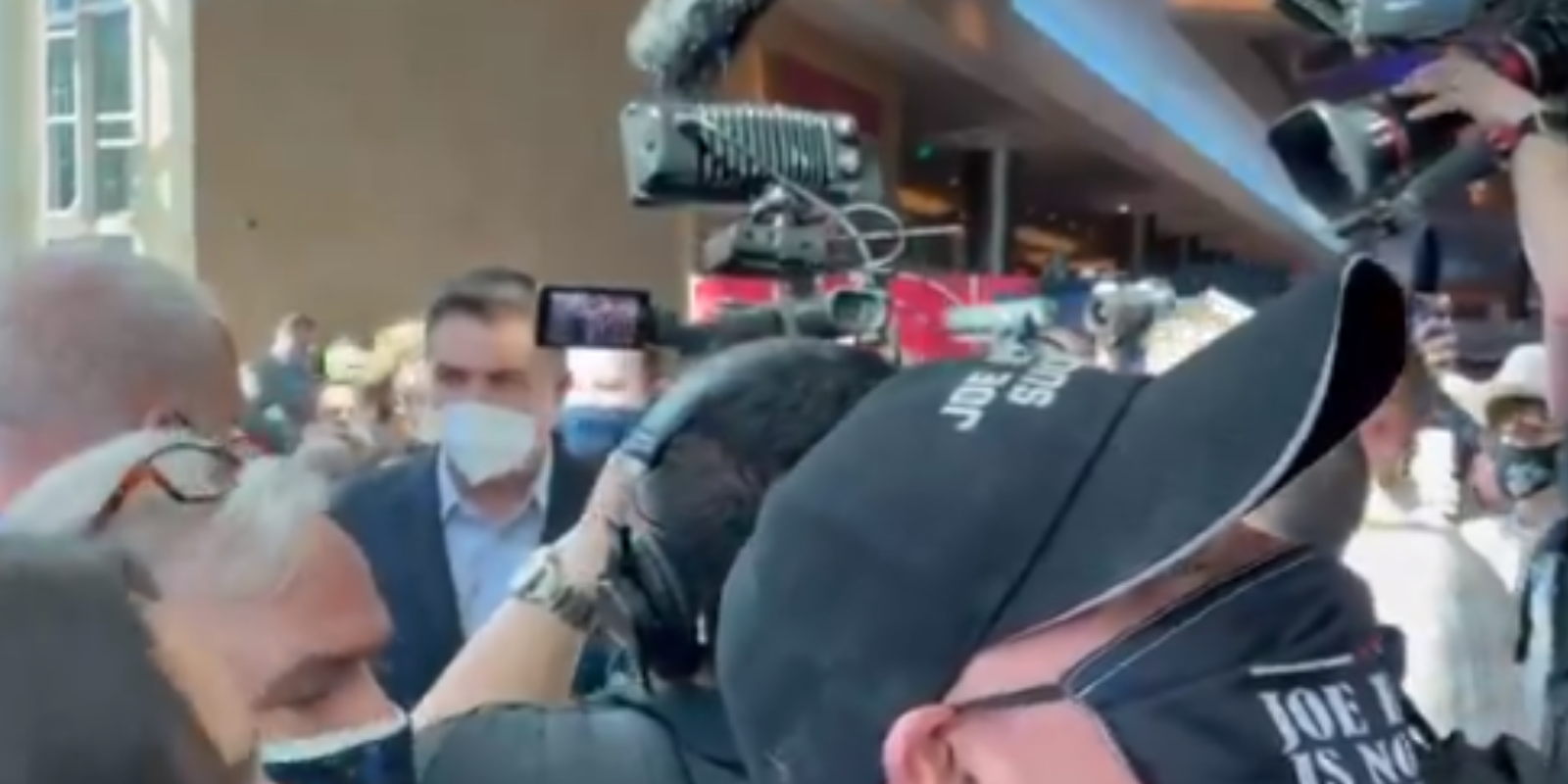'CNN SUCKS': Jim Acosta confronted at CPAC over network's failure to cover Cuomo COVID and sexual harassment scandals