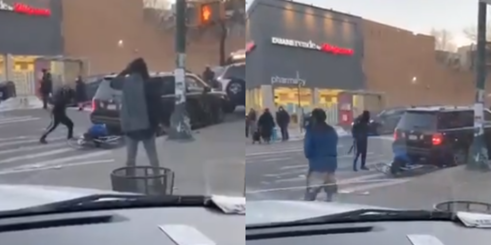 WATCH: Man with baseball bat bashes bicyclist while onlookers watch in Brooklyn