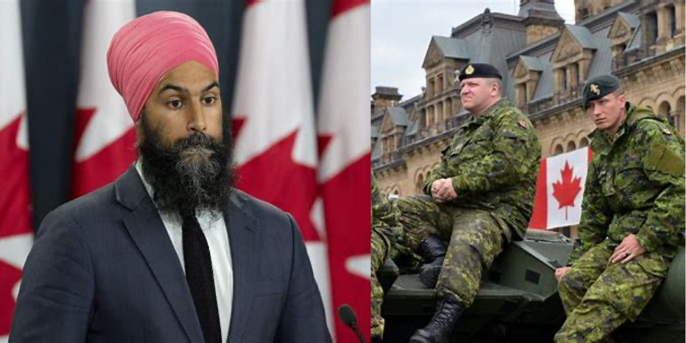 NDP Leader Jagmeet Singh calls for vaccine plan with military deployment