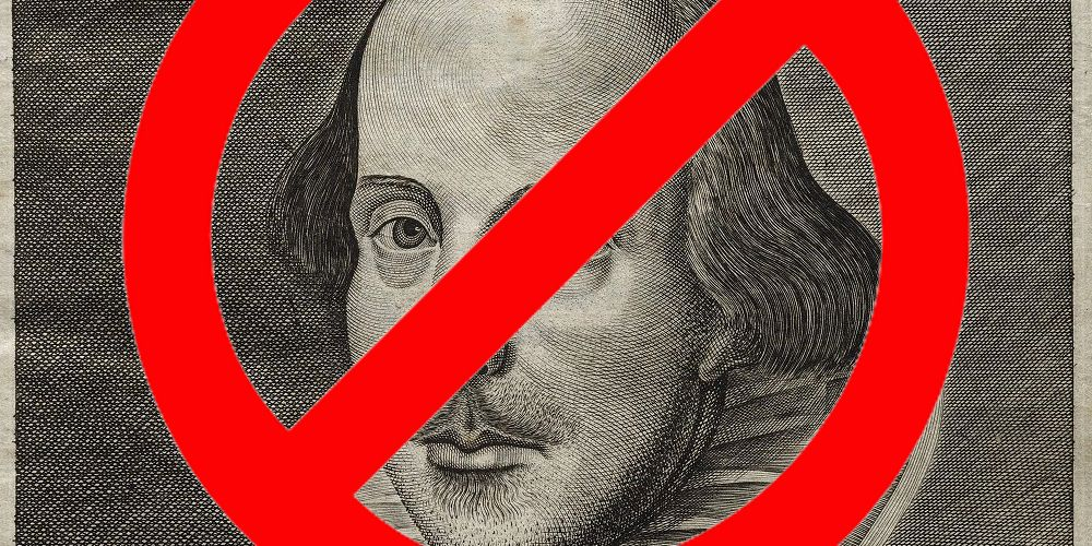 Shakespeare deemed too outdated for the woke modern school curriculum