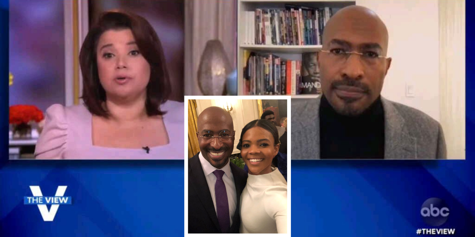 WATCH: View host scolds Van Jones for taking a selfie with Candace Owens