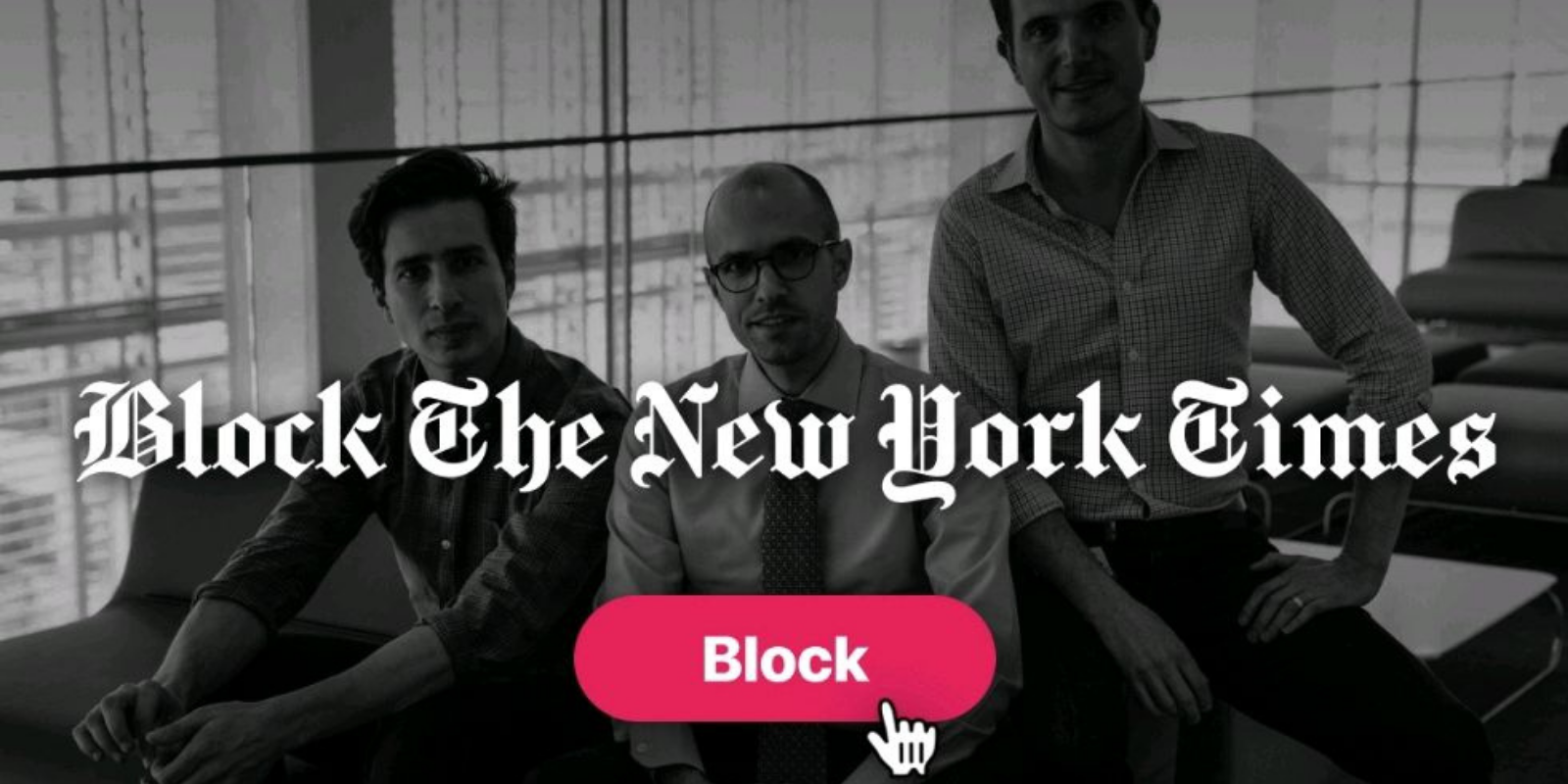 New app blocks The New York Times to prevent spread of disinformation