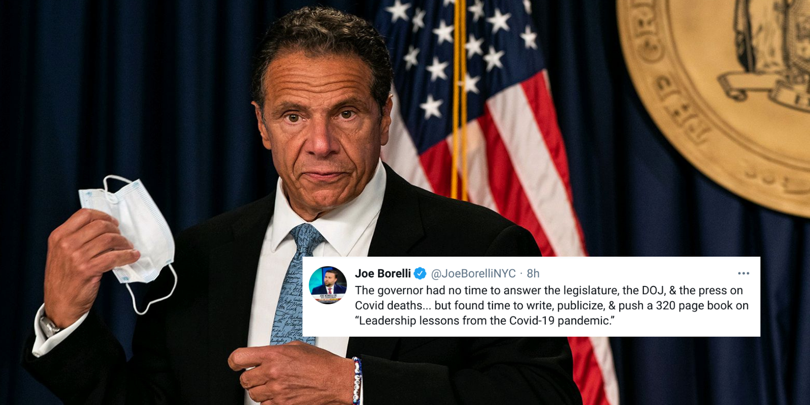 #CuomoCoverUp trends on social media after NY Gov refuses to accept blame for nursing home deaths scandal