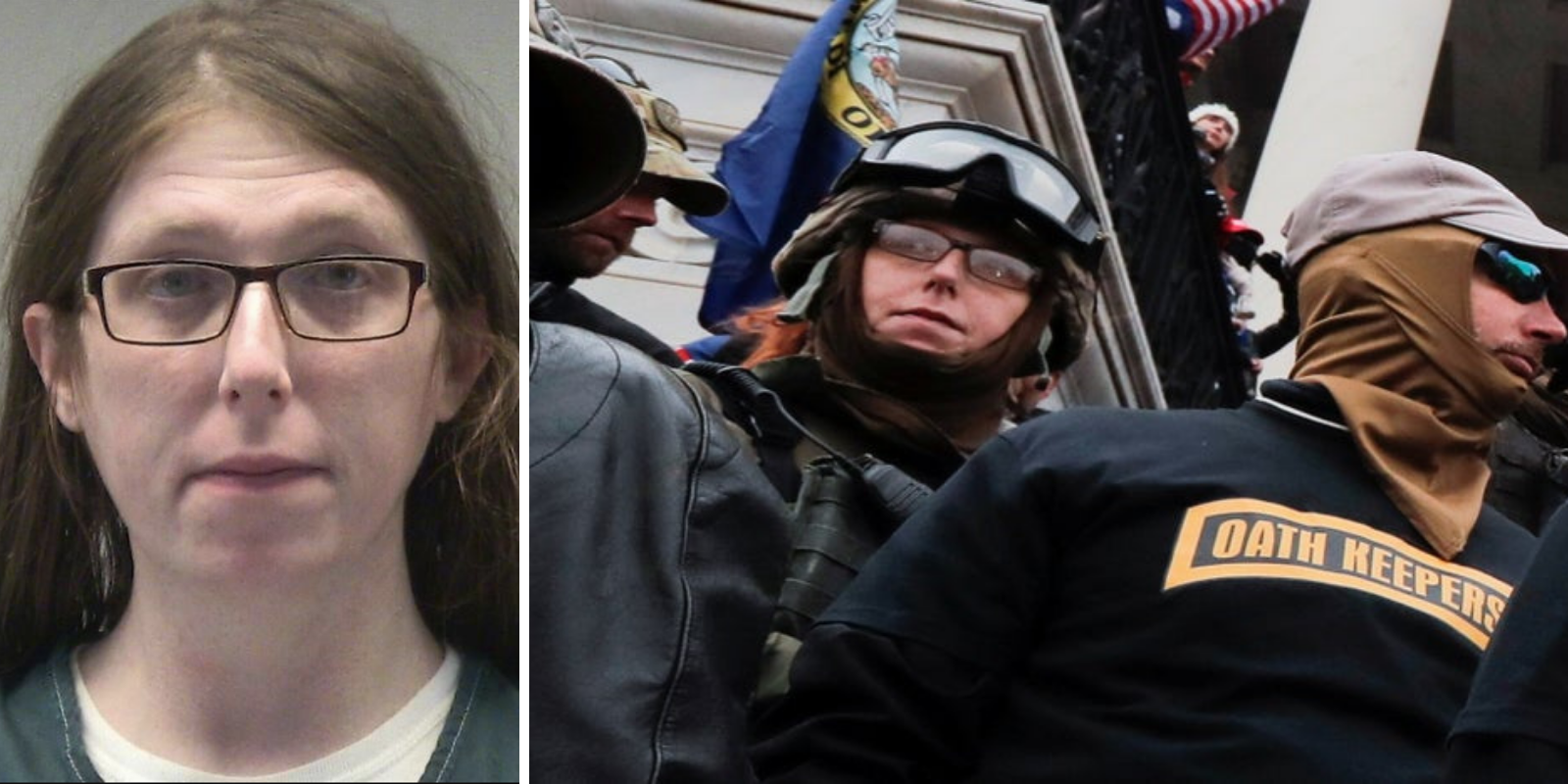 Transgender woman arrested for storming Capitol demands to be released from jail for her own safety