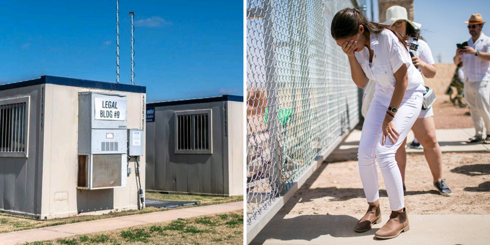 FLASHBACK: AOC called migrant facilities Biden is currently using 'concentration camps'