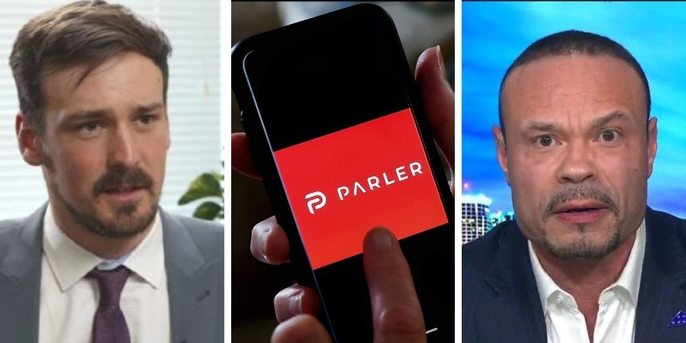 WATCH: Dan Bongino fires back at recently-ousted Parler CEO John Matze