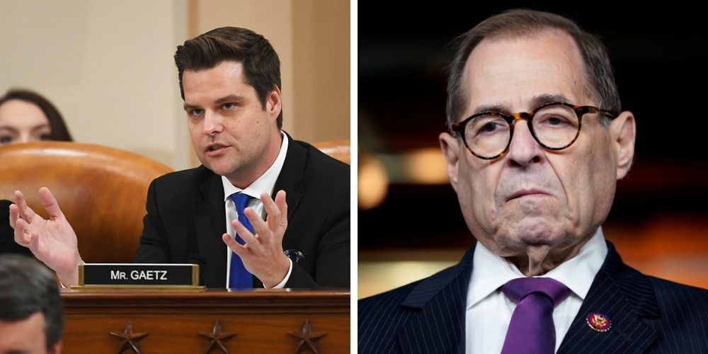 Nadler refuses Gaetz's request to begin impeachment hearing with the Pledge of Allegiance, calls it 'unnecessary'