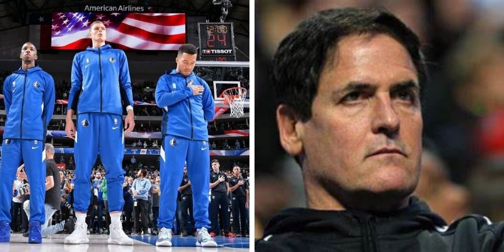 Dallas Mavericks owner Mark Cuban has decided to no longer play the National Anthem before games—NBA responds